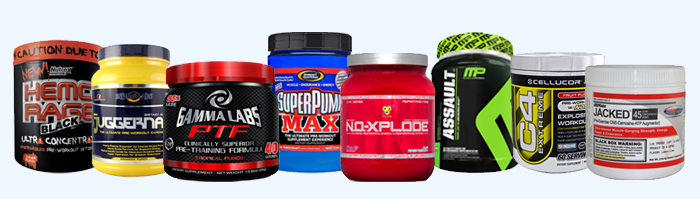 Pre-Workout Foods & Supplements