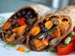 Zesty Chicken & Black Bean Burritos