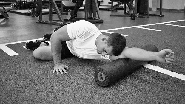 Triceps-Foam-Roller